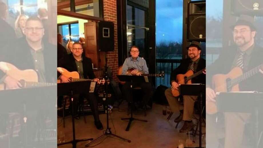 Thursday, Feb. 13: Uncorked with Jim Pagel Jazz Trio, an authentic Gypsy Jazz group that plays French Gypsy Jazz from the 1930s through the 1940s, is set for 5:30 to 8 p.m. in the Saints & Sinners Lounge at the Midland Center for the Arts. (Photo provided/Midland Center for the Arts)