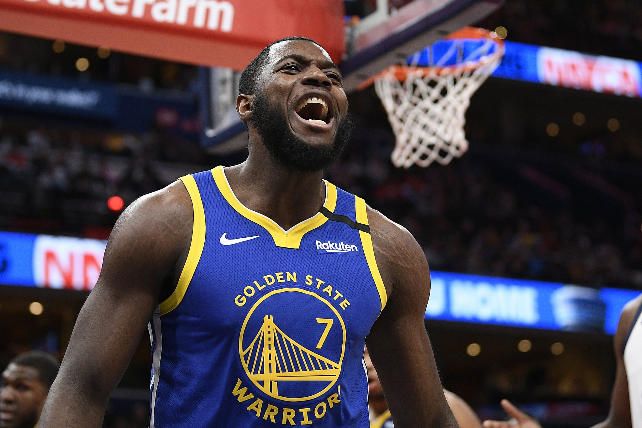 Warriors' Paschall carries torch for those who don't fit NBA draft mold