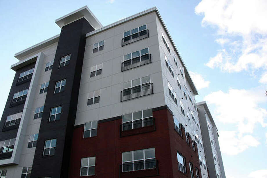 Whispering Heights' south tower had its grand opening on Feb. 6. It and other developments around town have the potential to re-shape the city's housing market, especially for Baby Boomers. Photo: Charles Bolinger|Intelligencer File Photo