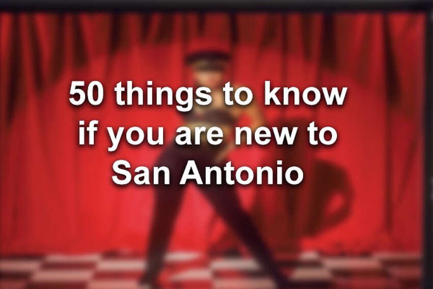 Click through for 50 things to know if you are new to San Antonio.