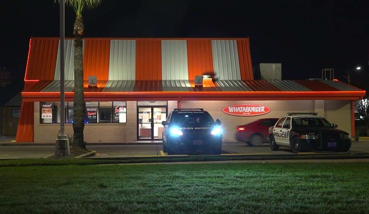 A man was struck and killed by an 18-wheeler on the East Freeway Thursday night after he reportely ran from Houston police who responded to an indecent exposure call at a Whataburger on Wayside.
