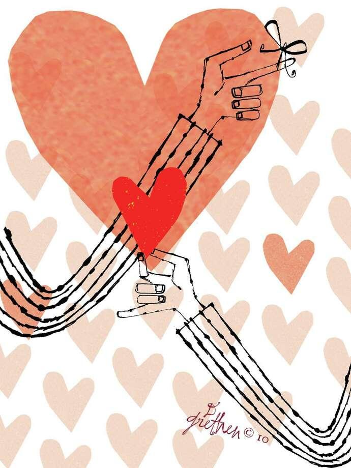 Donna Grethen Valentine's Day illustration. Photo: Donna Grethen / Tribune