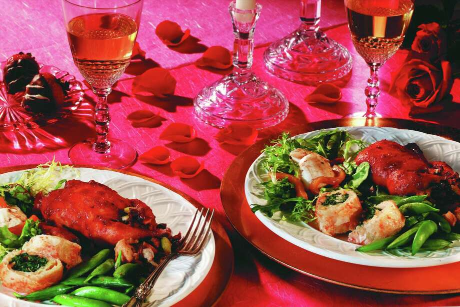 credit: HEB Treat your Valentine's date to a romantic dinner with Central Market's Dinner and a Movie.  Four-course meals include a choice of lobster and glazed quail entrees and all come with a copy of the film Chocolat, starring Johnny Depp.