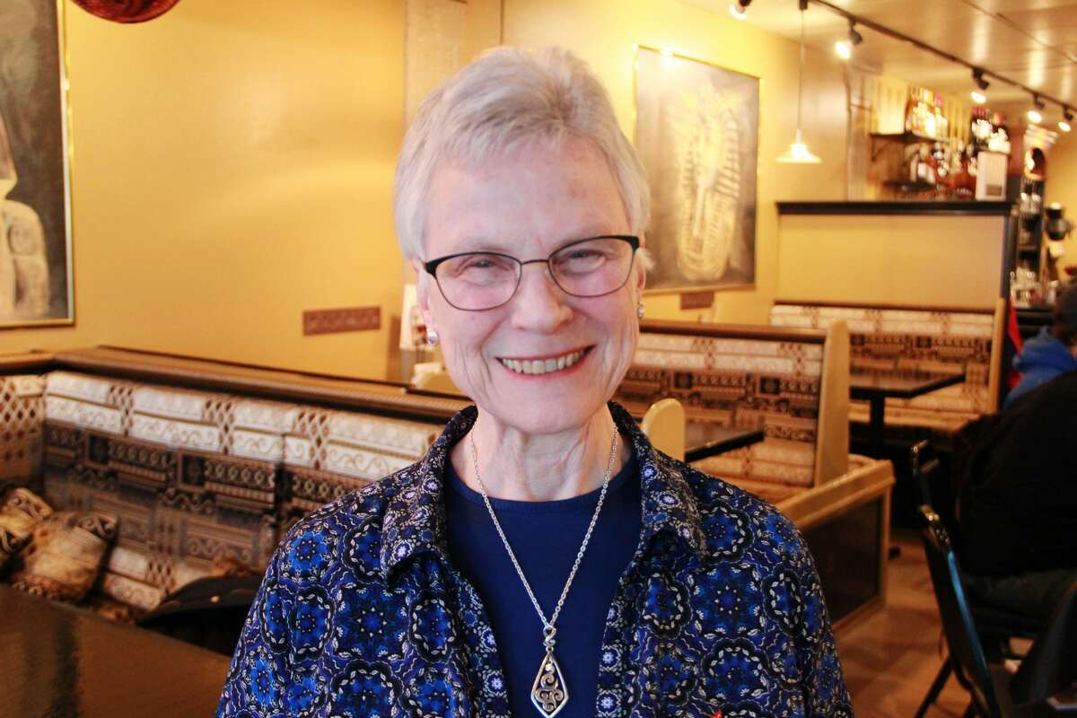 """""""It's always nice to reach out and be with them. I enjoy all the things they do. They do things within the community. I'm happy to have them."""" Jerena Keys, 79, Big Rapids, a message to her family"""