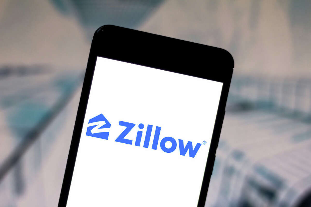 In this photo illustration the Zillow Group logo is seen displayed on a smartphone. (Photo Illustration by Rafael Henrique/SOPA Images/LightRocket via Getty Images)