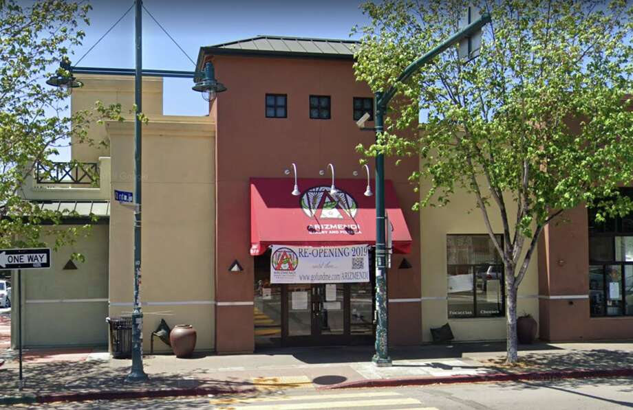 Arizmendi Bakery at 4301 San Pablo Ave. in Emeryville seen on May 2019. The bakery reopened on Feb. 13, 2020 following a fire and gas leak in 2018. Photo: Google Maps