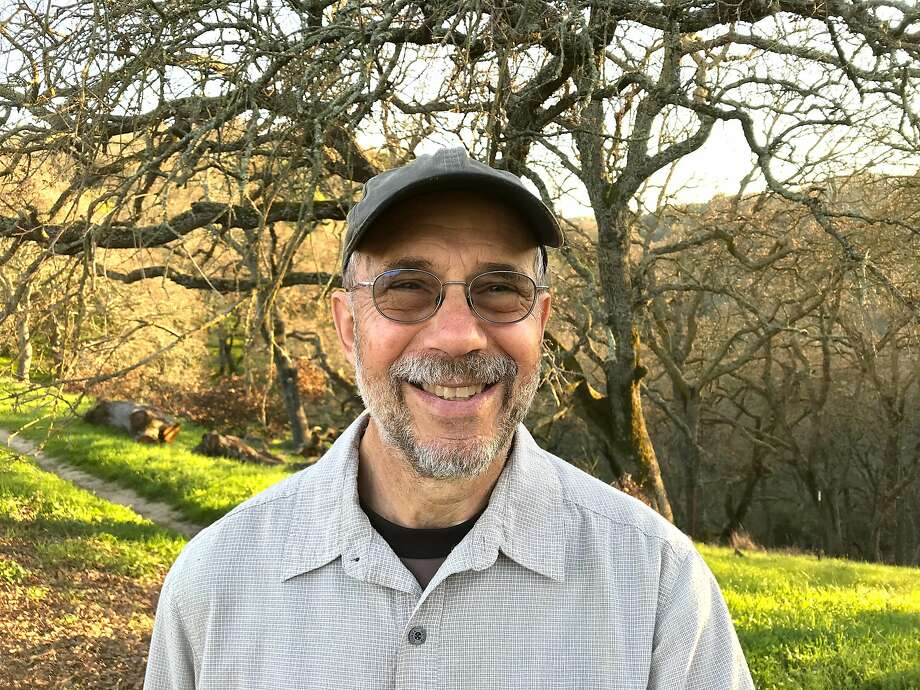 Mark Brauer is on a quest to hike every trail and every park in East Bay counties, covering thousands of miles at roughly 100 parks. Photo: Sherry Brauer