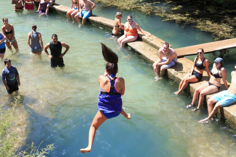 Dive into Jacob's WellDrive out to Wimberley and take the plunge into the magical swimming hole known as Jacob's Well. The crystal-clear swimming spot descends hundreds of feet and features a limestone cave. Reservations and a fee are required to swim in the well, according to Texas Parks and Wildlife. 