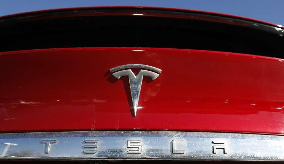 Shares of Tesla rose after the company's disclosures. Photo: David Zalubowski / Associated Press