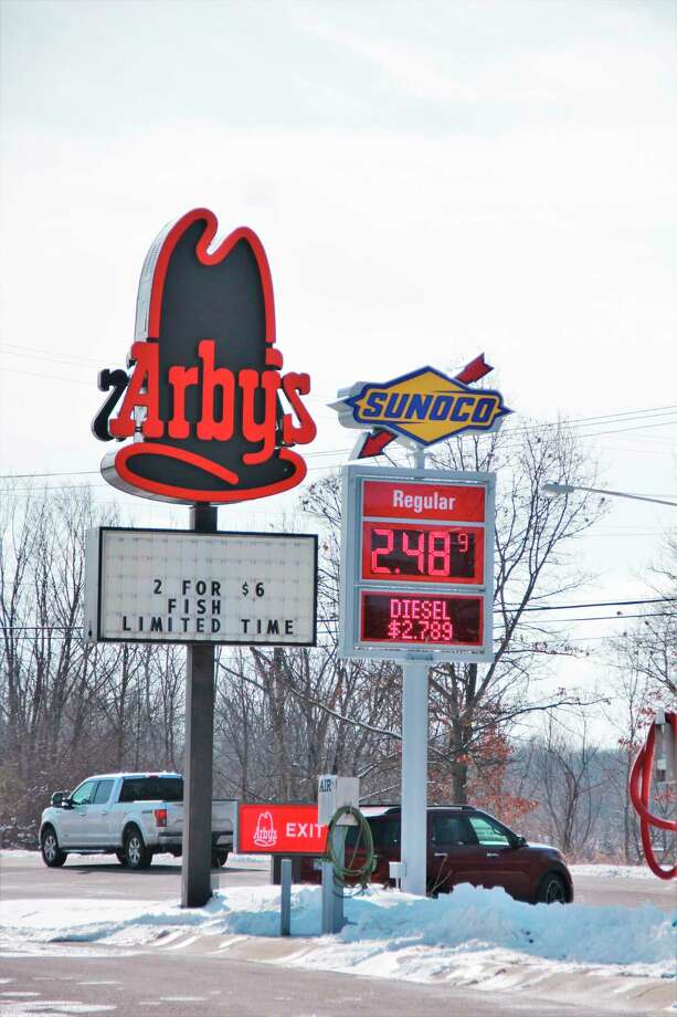Sharing a space with Sunoco gas station, Arby's is looking to move to Perry Avenue in hopes of gaining more customers with a larger space. Should all permits be approved,Arby's franchisee Michael Zipser saidthe new restaurant would be open by July.(Pioneer photo/Alicia Jaimes)