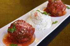 Meatballs - Classic, homemade, beef, pork, veal, whipped ricotta at Anthony's Italian Restaurant on Tuesday, Feb. 4, 2020 in Cohoes, N.Y. (Lori Van Buren/Times Union)