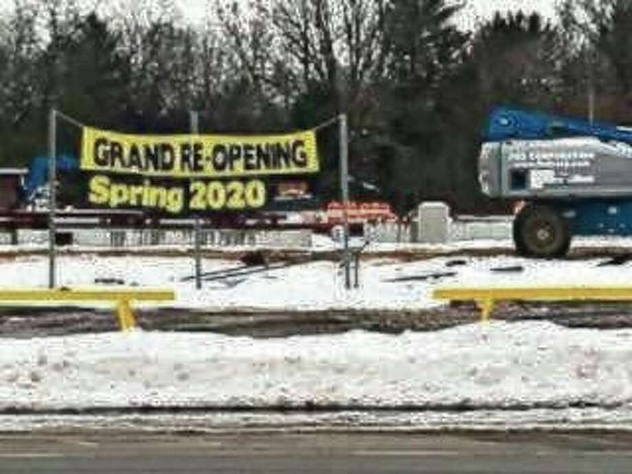 Owners of the Dublin General Store which burned down last year have been making strides toward reopening. (Courtesy Photo/Brenda Gauthier)