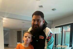 "After wanting to work with children who are autistic for a while now, Christopher Ortiz, a 29-year-old barber from Kyle, was given the opportunity to do so last Sunday, and he was left ""humbled"" and ""inspired"" by the experience."