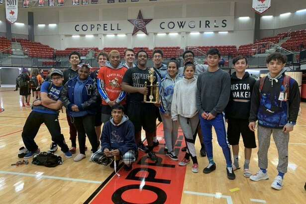The Westside wrestling team won the boys District 11-6A championship, repeating as team champions.