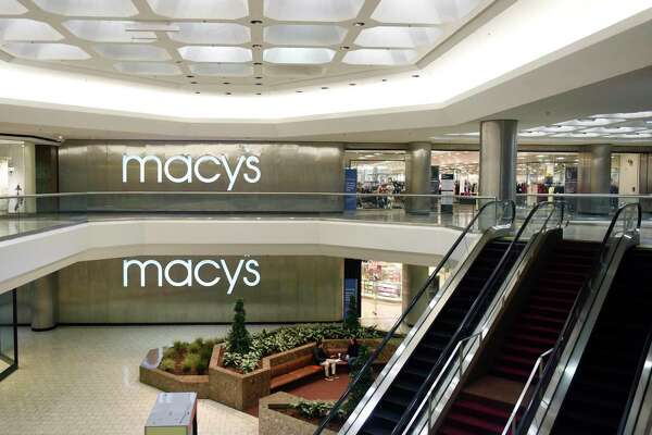 Macy's department store at the Stamford Town Center in Stamford, Conn. Thursday, Jan. 16, 2020. The closing of H&M and Clarks at the mall highlight its growing vulnerability to the competition from the new SoNo Collection in Norwalk.