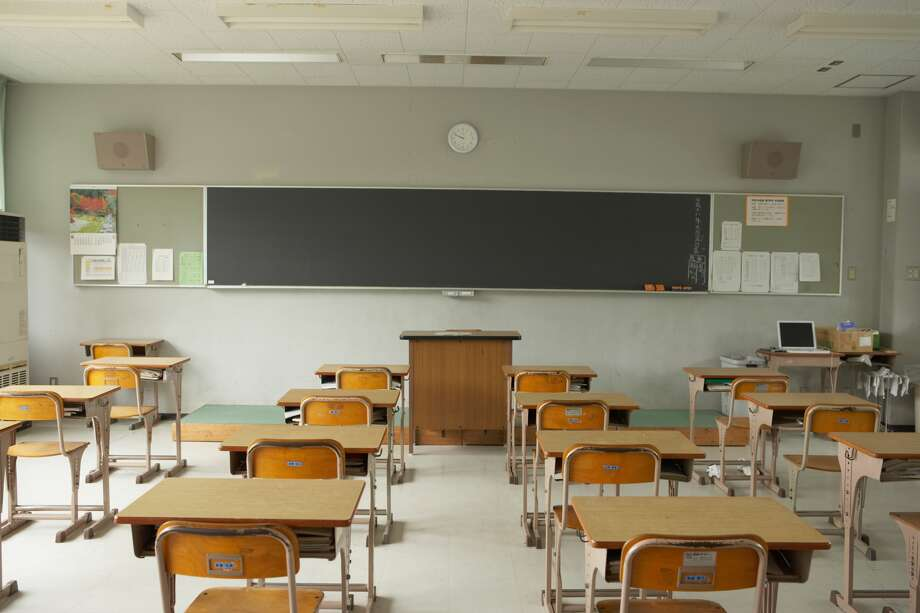 Chalkboards. Gone are the days of clapping the erasers clean for the teacher. Chalkboards are now nearly obsolete as most schools moved to whiteboards and dry-erase markers in the 1990s, according The Atlantic. Now many schools have computer-connected whiteboards. Photo: Getty Images