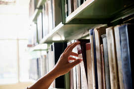 The books that mostly commonly go missing — and are assumed to be stolen — at the San Francisco Public Library.