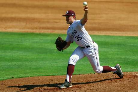 Texas A&M's Asa Lacy is considered by many to be the best lefthander in the country.
