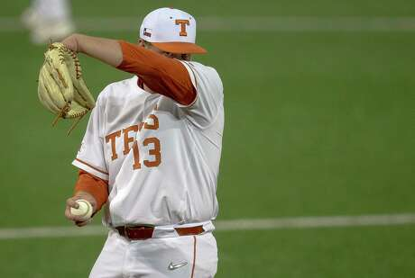 Pitcher Bryce Elder and the Longhorns want to wipe away last season when they fnished last in the Big 12.