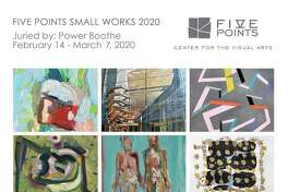 More than 700 artists submitted work for Five Points Gallery's new show, Small Works 2020.