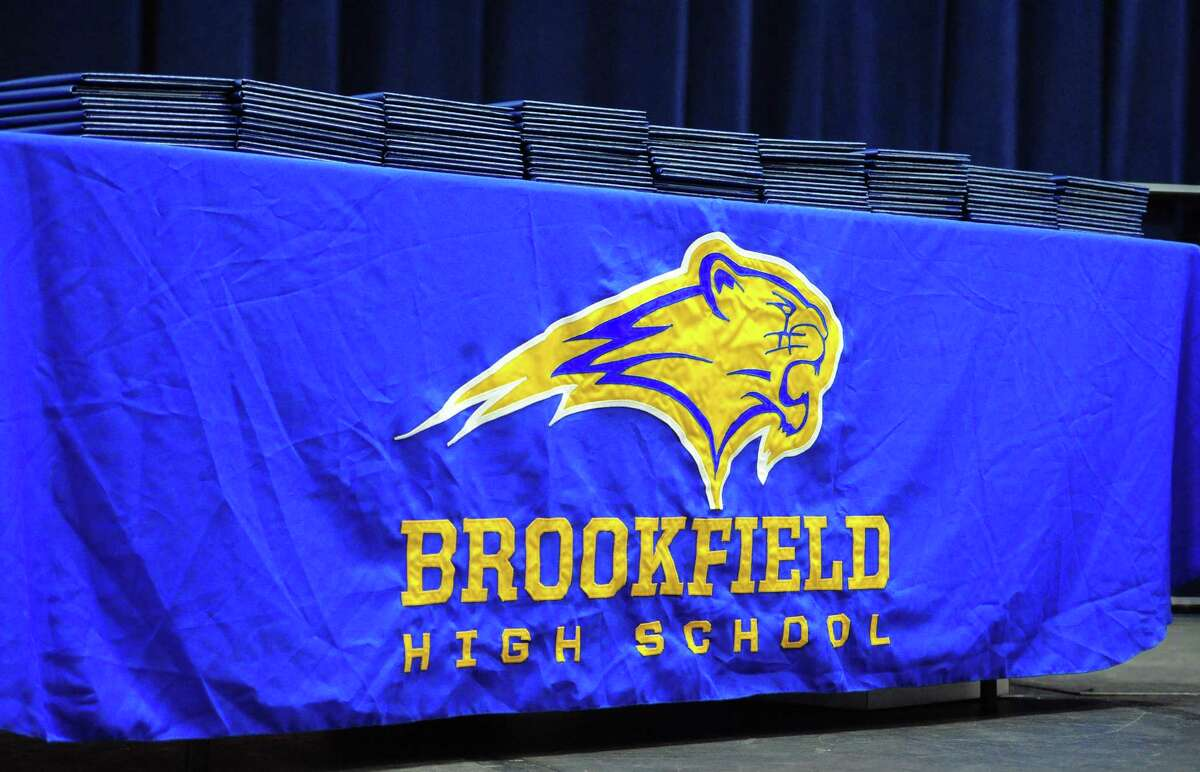 Brookfield High School's 53rd Commencement Exercises at at the O'Neill Center at Western Connecticut State University in Danbury, Conn., on Saturday June 22, 2019.