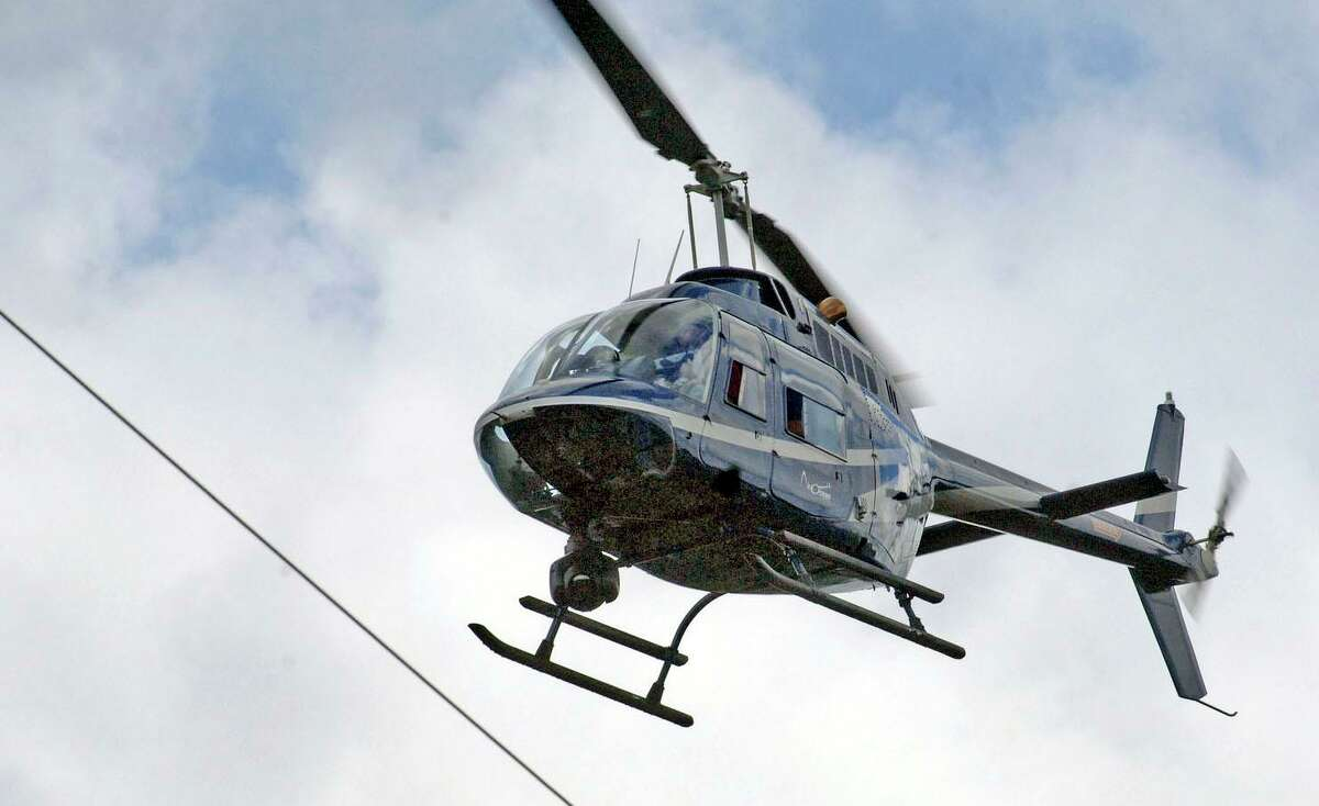 Eversource conducts statewide infrared helicopter inspections