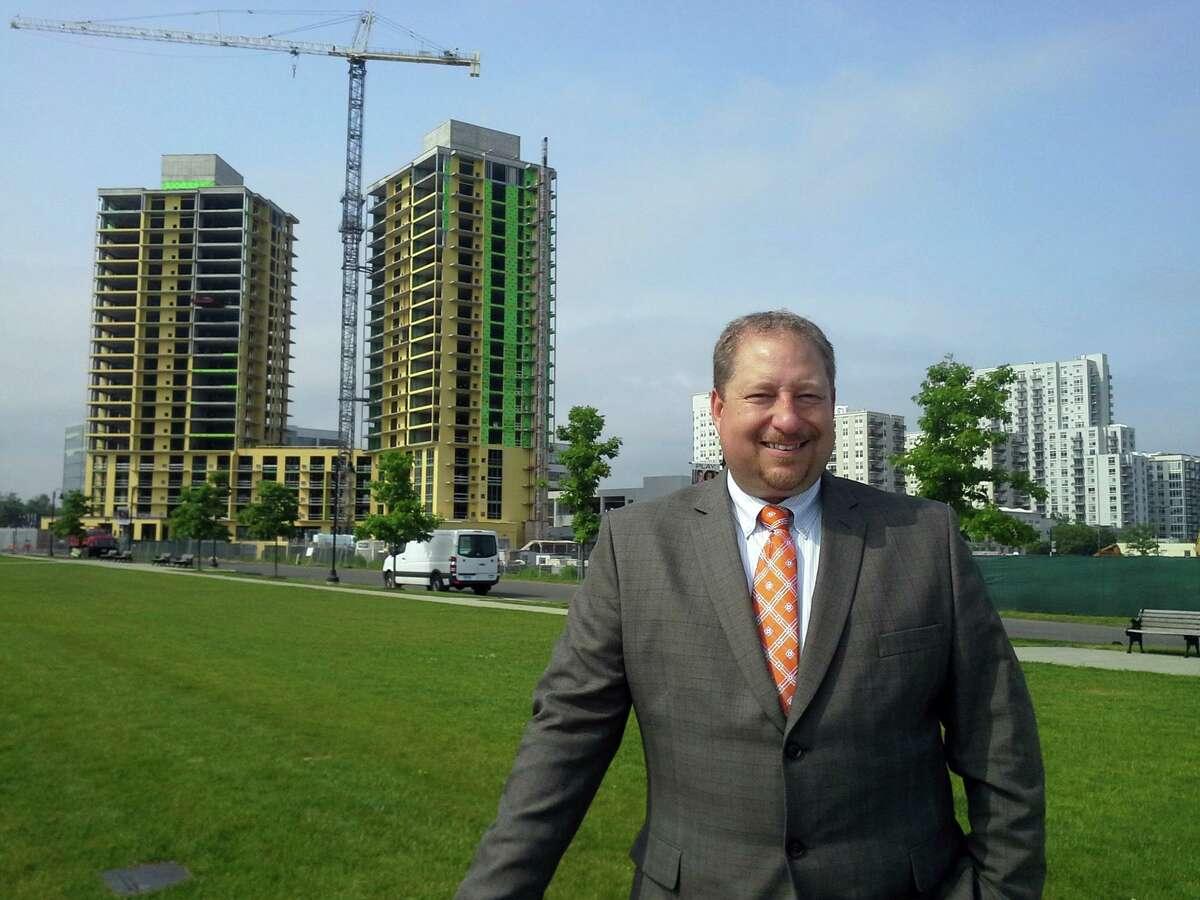 Thomas Madden is Stamford's economic development director.