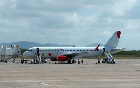 Mexican low-cost airline VivaAerobus's twice-weekly flights between San Antonio and Monterrey are slated to start June 26.