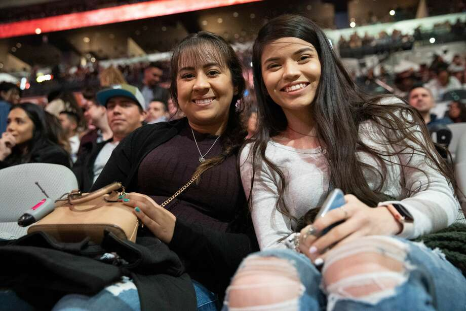 Pop star Becky G heated up the Alamo City Thursday night as she performed for the San Antonio Stock Show and Rodeo. Photo: Stacey Lovett