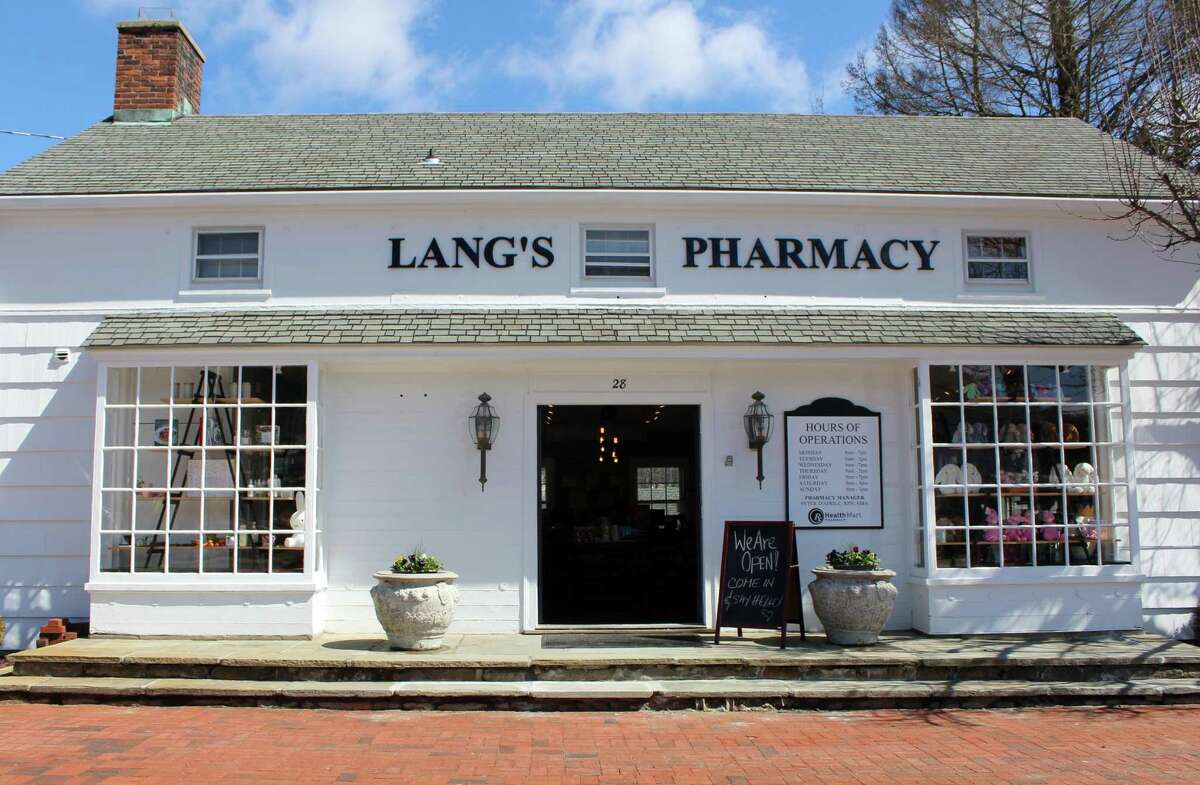 Lang's Pharmacy at 28 Center Street in Wilton opened Monday, March 27, 2017 and closed on February 12, 2020.