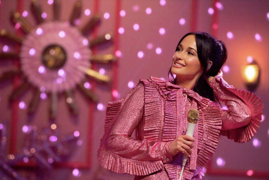 "Kacey Musgraves during a taping of ""The Kacey Musgraves Christmas Show,"" streaming on Amazon now. (Anne Marie Fox/Amazon Studios via AP) Photo: Anne Marie Fox, Associated Press / Amazon Studios"