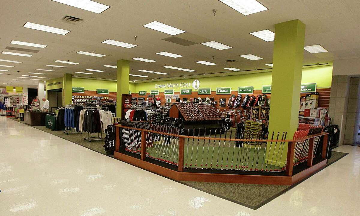 The Edwin Watts Golf store located inside the Sears store at Deerbrook Mall.
