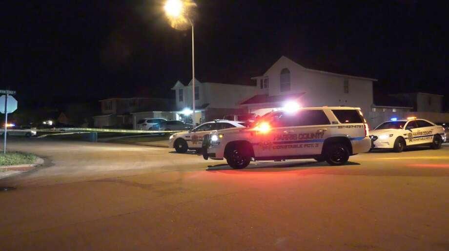Deputies investigate a shooting in the 9500 block of Wyatt Oak Lane on Thursday, Feb. 13, 2020. Photo: OnScene.TV