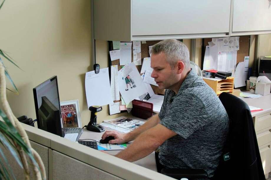 Joel Caverly of Agri-Valley Services. (Robert Creenan/Huron Daily Tribune)
