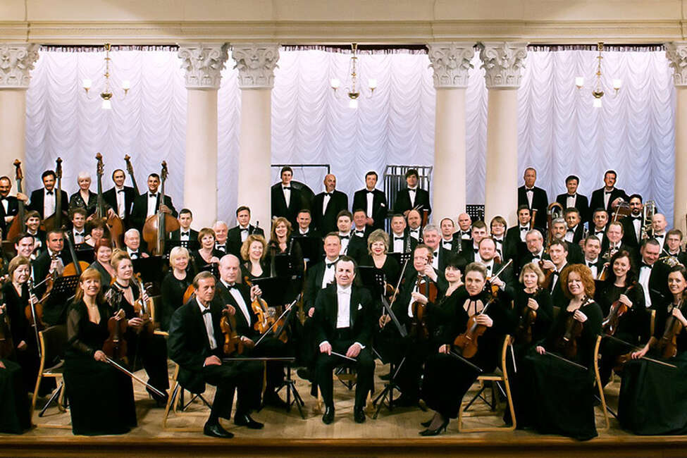 The National Symphony Orchestra of Ukraine performed a rousing concert at Troy Music Hall Thursday night.