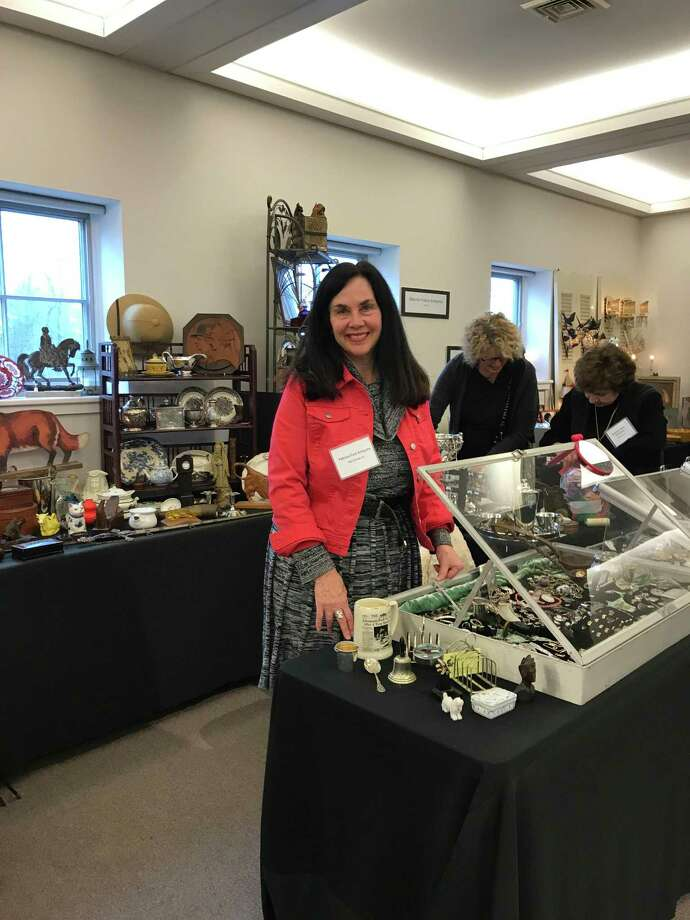 The third annual New Canaan Art, Antique and Jewelry Show to benefit the New Canaan Museum and Historical Society took place for the third consecutive year. Photo: Contributed Photo