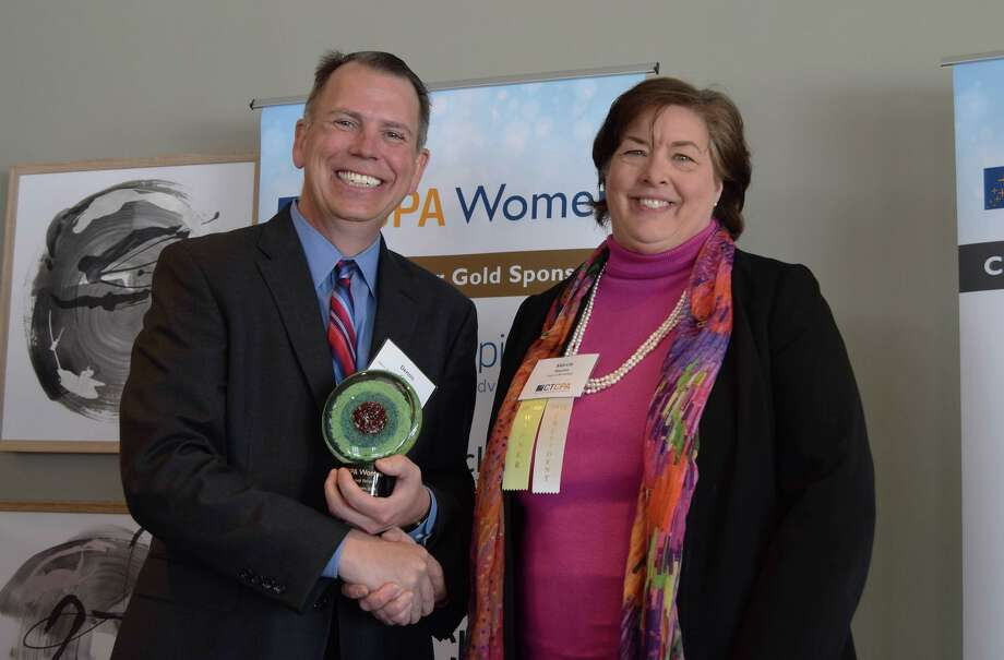 """The Connecticut Society of Certified Public Accountants (CTCPA) honored Marcia Marien, CPA of Middletown for """"Distinguished Service."""" Photo: Connecticut Society Of Certified Public Accountants / Contributed Photo /"""