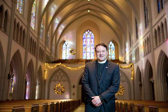 The Rev. Dr. Russell Levenson Jr. at St. Martin's Episcopal Church