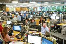 Commodities-merchant Freepoint Commodities - which has this trading floor at its offices at 58 Commerce Road, in Stamford, Conn. - is launching an accelerator program for early-stage companies.
