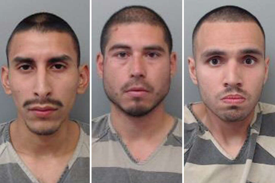 Three men allegedly broke into a home to steal a window and boxes of ready mix. Photo: Courtesy