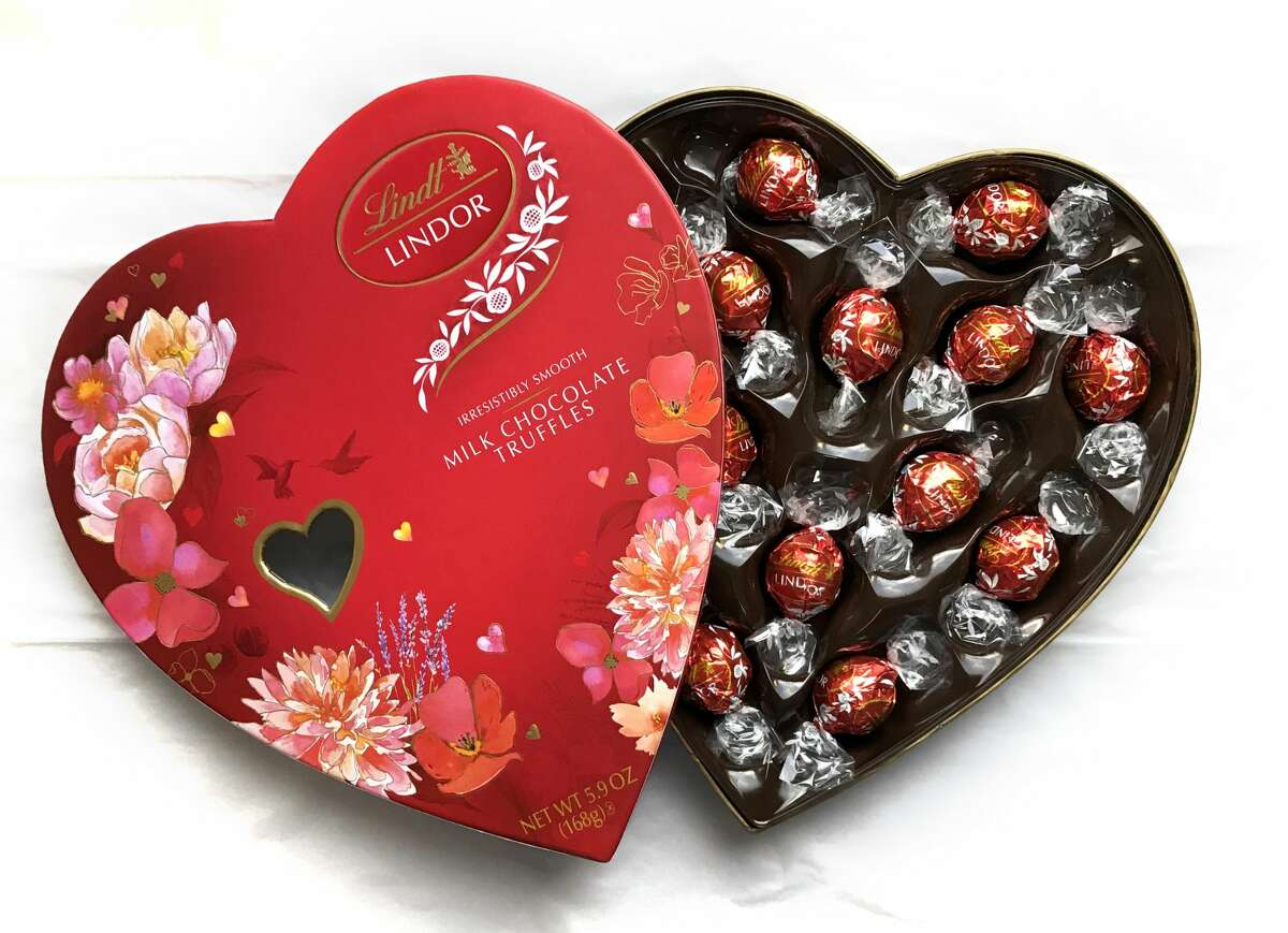 Lindor truffles from Lindt are silky smooth.