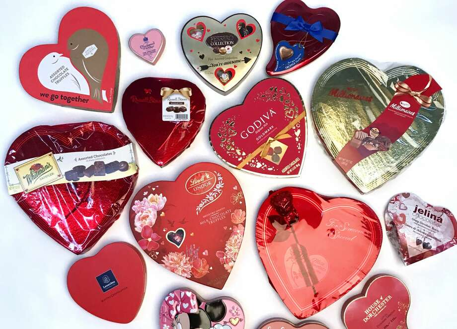 We tried all the heart-shaped boxes of chocolate and found some favorites. Photo: Paul Stephen/Staff