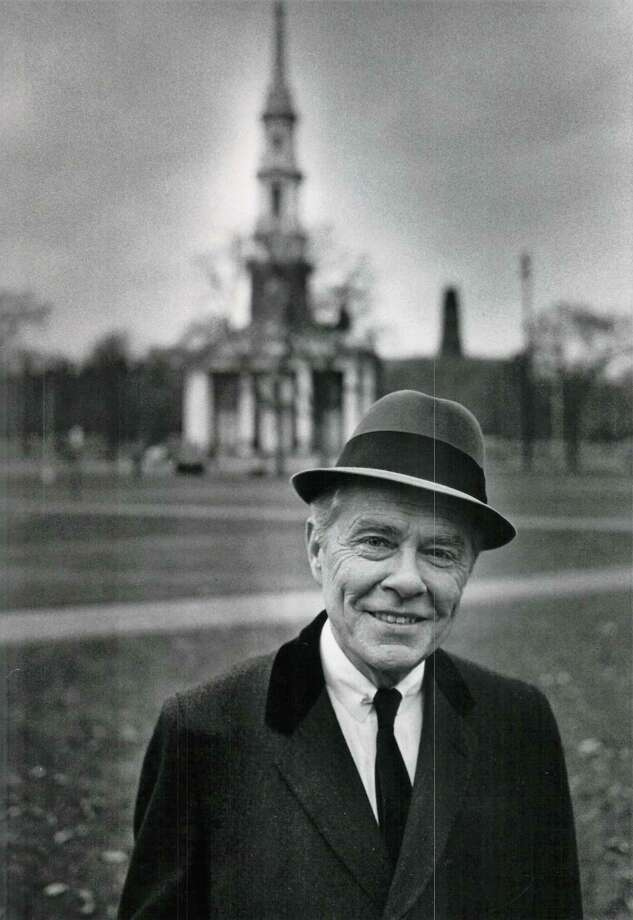 Mayor Richard C. Lee on the New Haven Green in an undated file photo. Photo: Hearst Connecticut Media File Photo