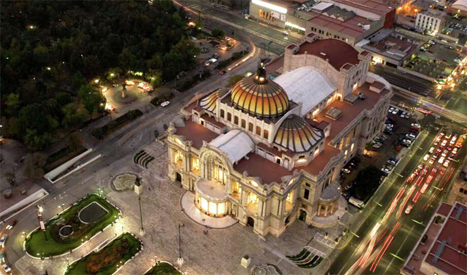 United will increase frequencies from SFO to Mexico City this summer; this is the city's Palace of Fine Arts museum. Photo: VisitMexico.com