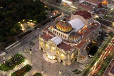 United will increase frequencies from SFO to Mexico City this summer; this is the city's Palace of Fine Arts museum.