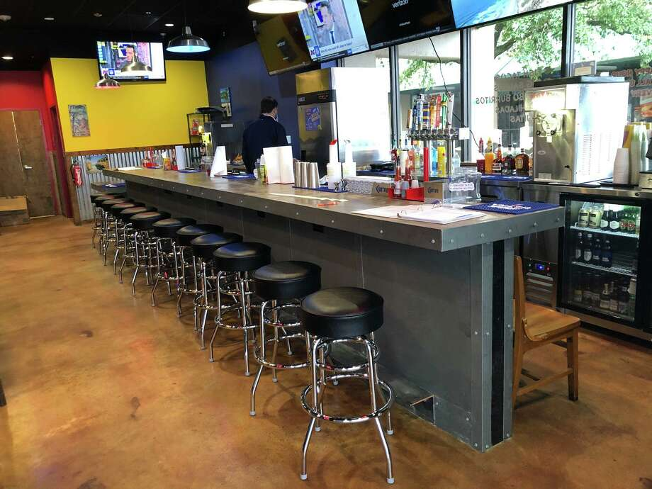 Fuzzy's Tacos in Beaumont closed during December for a renovation. It is now open with a new look. Photo: Courtesy Of Fuzzy's Tacos