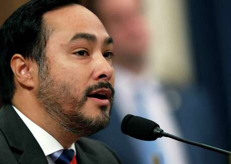 Rep. Joaquin Castro, D-San Antonio, leads a move to end the president's emergency declaration used to finance the wall.