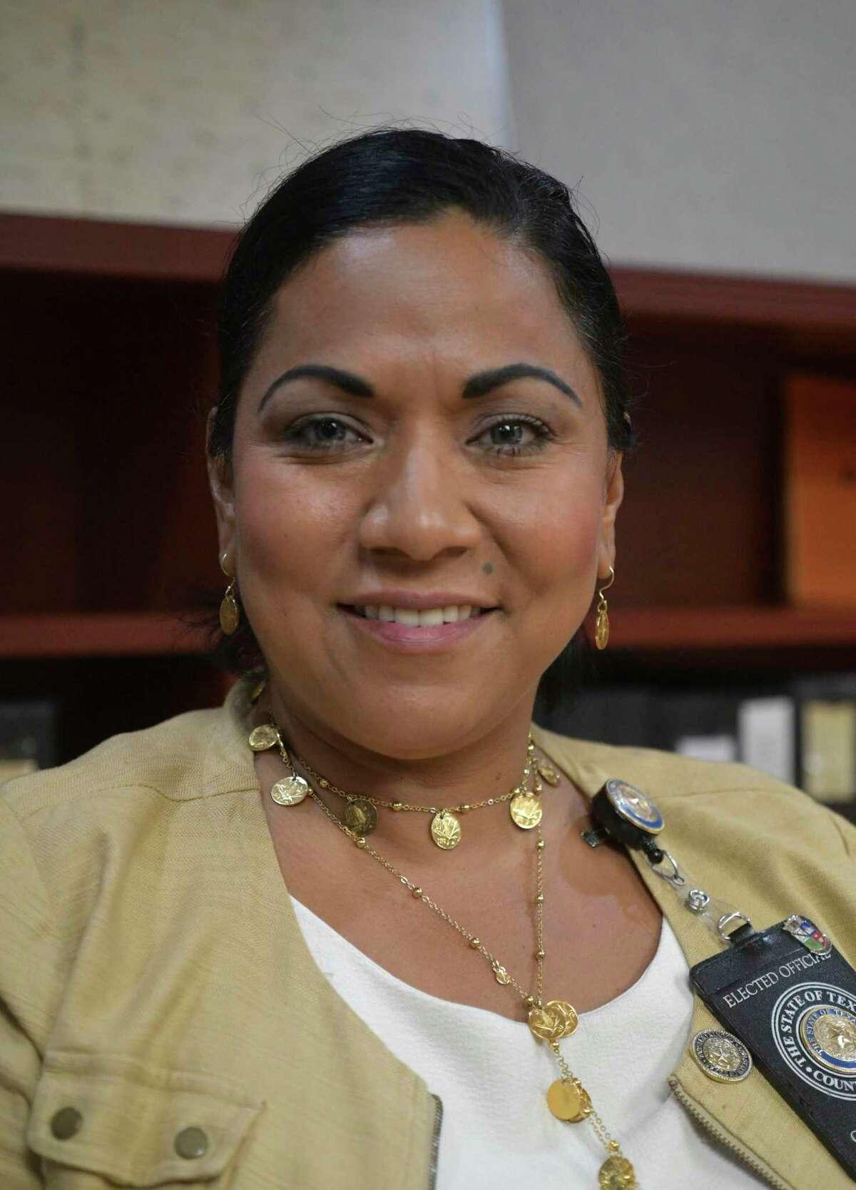 Bexar County Clerk Lucy Adame-Clark.