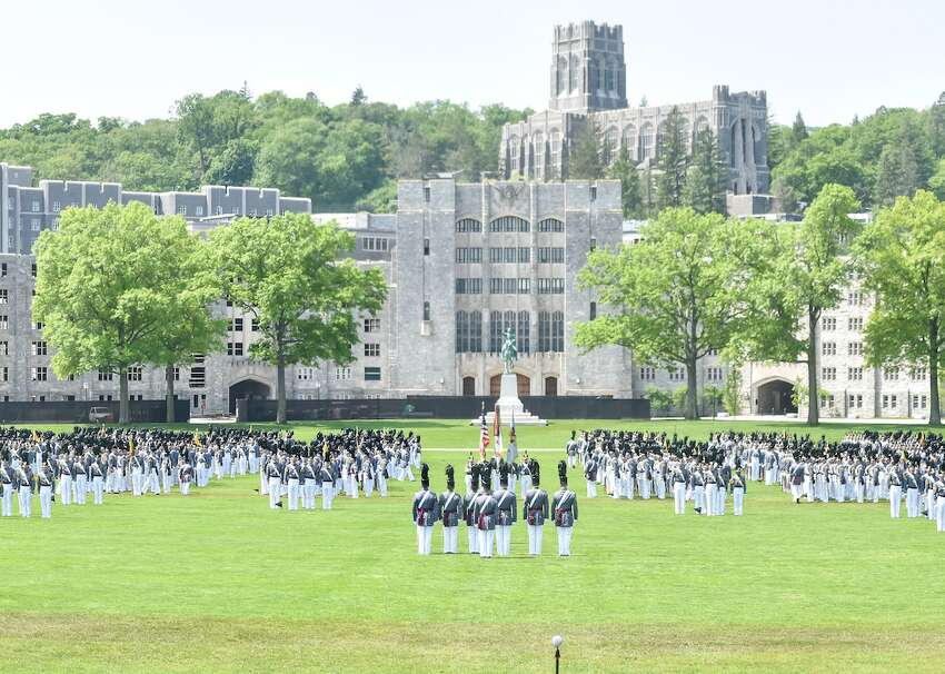 #50. United States Military Academy at West Point - Tuition: $0 (out-of-state); $0 (in-state, #1 least expensive) - Location: West Point, New York - Students: 4,491 (student-to-faculty ratio: 7:1) - Acceptance rate: 10% (ACT: 23-28; SAT: 1180-1400) - Outcomes: graduation rate: 86%; six-year median earnings: data not available In a world where college prices are rising and student debt is at an all-time high, the United States Military Academy at West Point stands apart as a completely free option for a four-year education. It's not just classes that are covered, either: students at this military academy receive room, board, and health care entirely free of cost. Most West Point students (about 94% of them) come from out of state, but getting into this prestigious academy is no cakewalk for anyone, as the acceptance rate is about 10%. This slideshow was first published on theStacker.com
