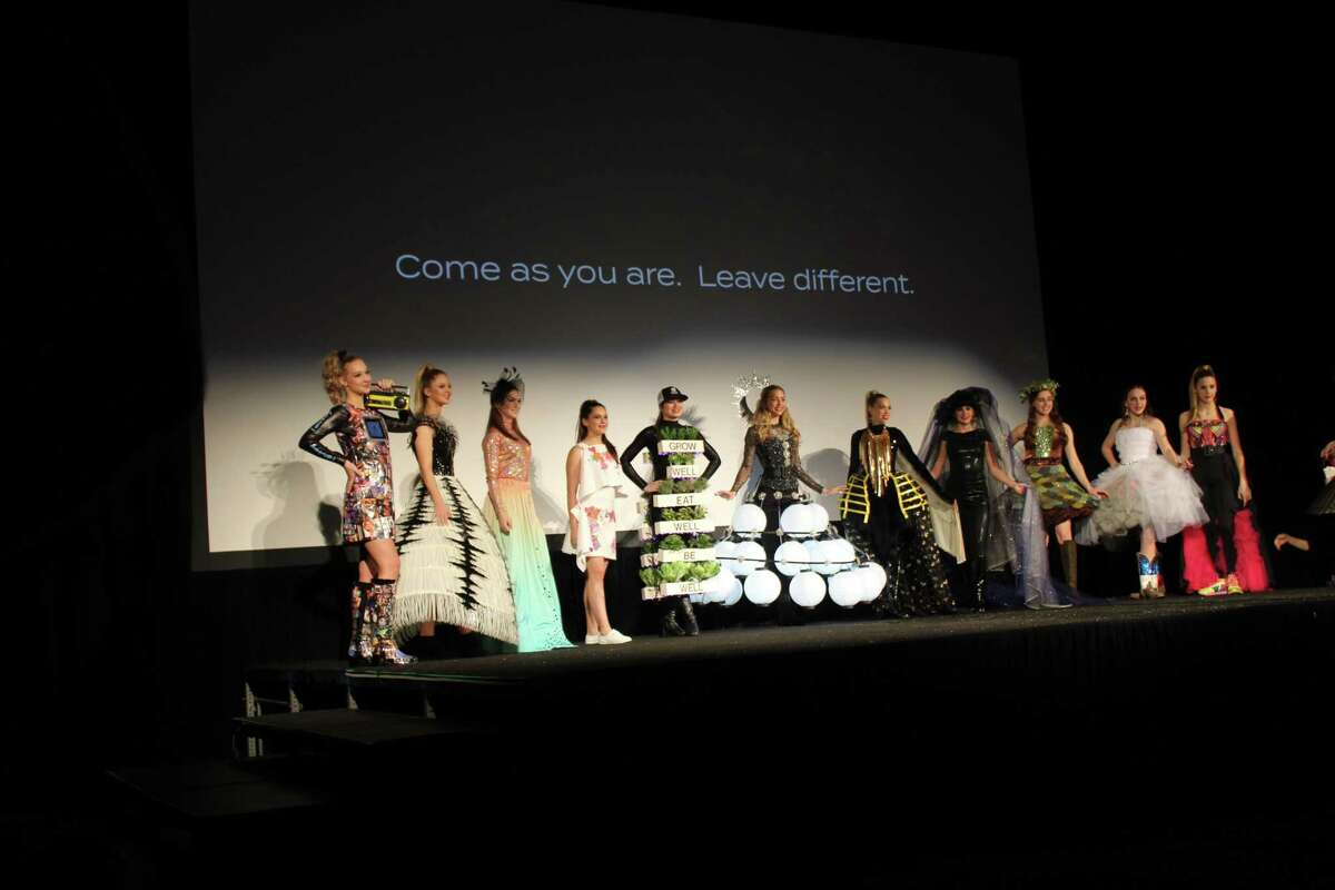 The fourth annual Inspire Film Festival kicked off on Thursday night, Feb. 13, with the usual fashion show, which features homemade dresses that represent each of the films being shown at the festival. This year's theme is